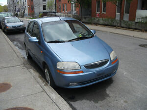 2004 Suzuki Swift      VENDU
