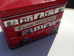 Churchill's confectionary tin bus bank Gatineau Ottawa / Gatineau Area image 2