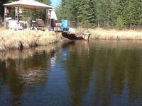 Private getaway on creek
