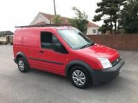 2007 57 FORD TRANSIT CONNECT 90 T200 L SWB 1.8 TDCI IN COLORADO RED FULL MOT