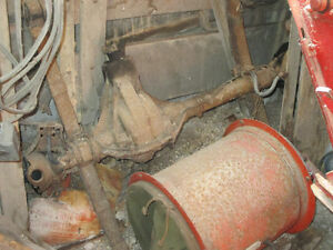 Willys axle