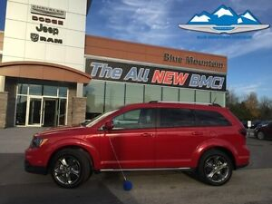2016 Dodge Journey Crossroad AWD  ACCIDENT FREE, SOLD/SERVICED H