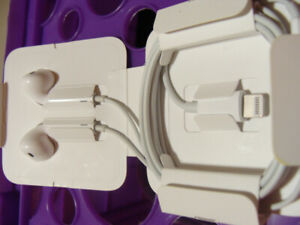Apple EarPods with Lightning Connector(NEW) $30 or best offer.
