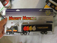 KENWORTH T600A WITH TRAILER - ERTL - 1/64 SCALE - NORTHLAND