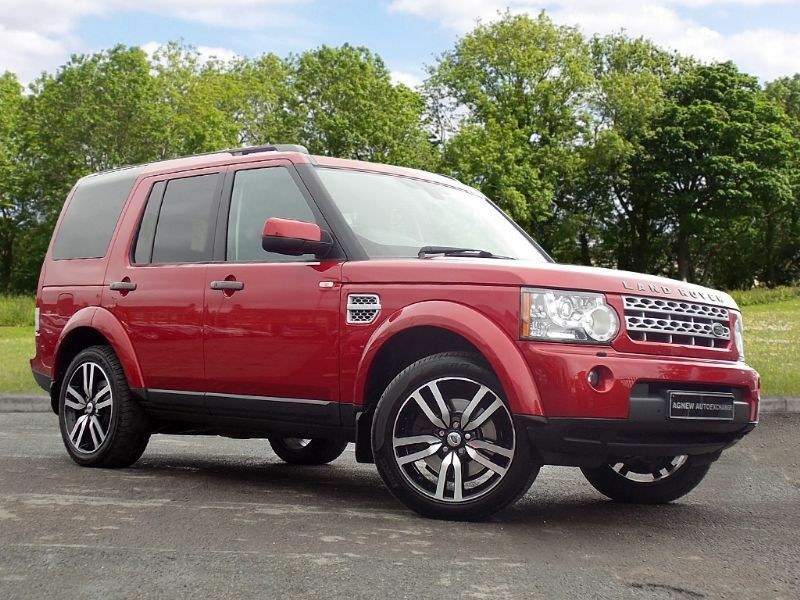 Land Rover Discovery 4 3 0 Sd V6 Hse 5dr Red 2012 In