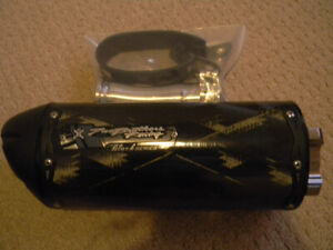 R6 Two Brothers Racing  Black Series Slip-On Exhaust BRAND NEW