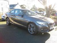 2015/15 BMW 220D 190bhp AUTOMATIC SPORT COUPE, HIGH SPEC, LOW MILES