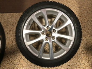 "18"" Winter Tires on Alloy Rims (Qty 4)"