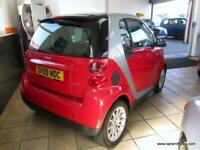 2009 smart fortwo coupe 1.0 PASSION MHD 2DR AUTOMATIC Coupe Petrol Automatic