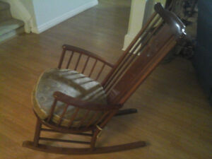 Rocking chairs and a computer chair, $150 each