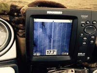 Hummingbird fish finder model CI 598 HD side imaging