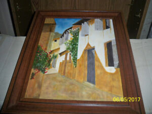 lot de 5 different tableaux
