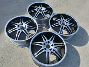 "18"" MHT Driven CHROME faced 5x4.5"" 5x114.3mm RIMS"