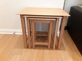 Nest of tables - M&S Lichfield range