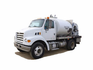 2007 STERLING L7500 VACUUM TRUCK Cash/ trade/ lease to own ter