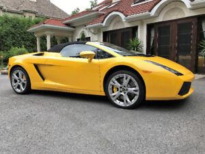 2008 Lamborghini Gallardo Spyder Cabriolet - EXCEPTIONNELLE