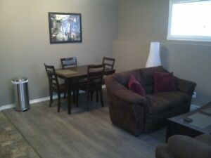Fully furnished 1 bedroom suite in Dawson Creek - Dec 1st
