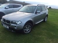 QUICK SALE STUNNING BMW X3 SE IN MINT CONDITION WITH LOW MILEAGE