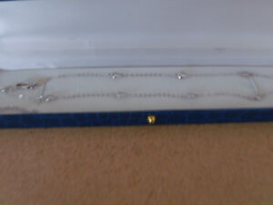 DIAMONELLE STATION CHAINS SILVER WITH RHODIUM PLATE London Ontario image 1