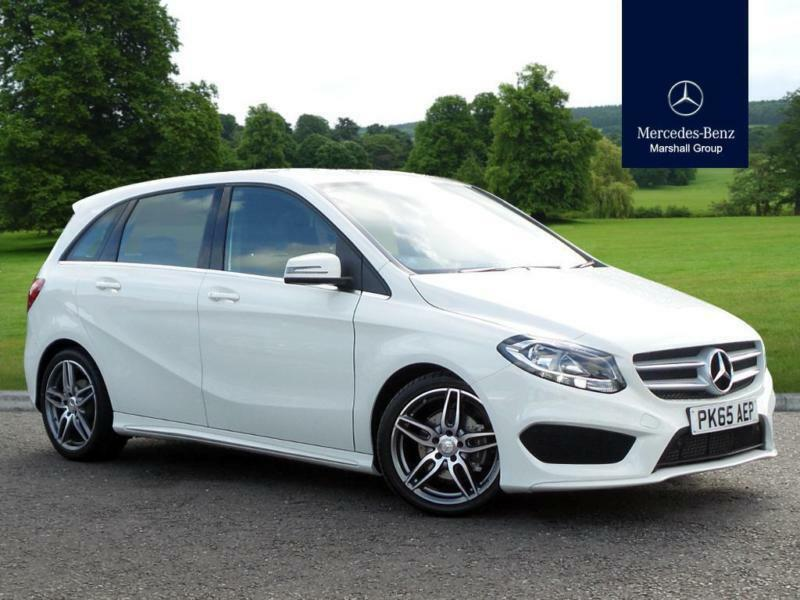 2015 mercedes benz b class b class diesel hatchback b180d amg line diesel white in ashton on. Black Bedroom Furniture Sets. Home Design Ideas