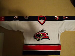 ***Authentic Columbus Blue Jackets Goalie Jersey***