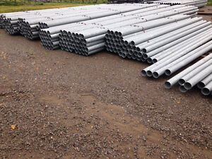 Galvanized steel pipe  4.5""