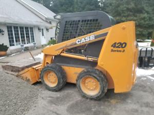 2009 Case 420 series 3