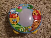 Winnie the Pooh cot projector / light show