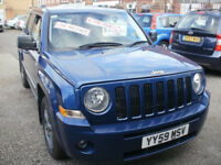 JEEP PATRIOT LTD 2.0 CRD 2009/59 ONLY 70K MASSIVE SPEC FULL SERVICE HISTORY