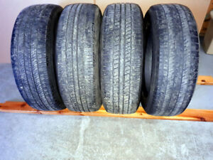 17 inch 225 65 r17 Four Tires $60.00