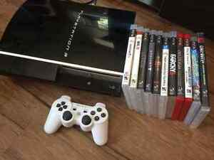 PlayStation 3 and 11 games!