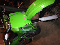 Kx500 1996 very clean an fast! Trade for street bike!