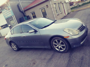 2005 Infiniti G35 Loaded Leather Sunroof Great Deal