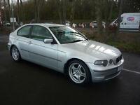 02 REG BMW 325 2.5 2002MY ti SE Compact