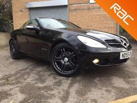 2005 55 MERCEDES-BENZ SLK 1.8 SLK200 KOMPRESSOR 2D FULL RED LEATHER, NECK/ AIRSC