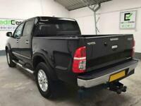 *buy from £64 per week* BLACK TOYOTA HI-LUX 3.0 INVINCIBLE 4X4 D-4D DCB169 BHP