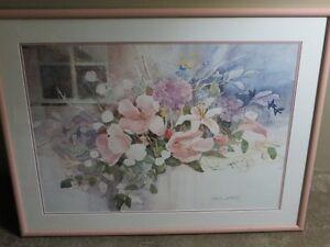 Large Dalina Darton print, beautiful floral watercolour