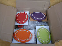 NEW 4PC MINI RAMEKIN CASSEROLE DISH SET WITH LIDS