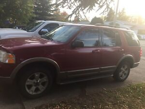 2003 Ford Explorer comes with inspection
