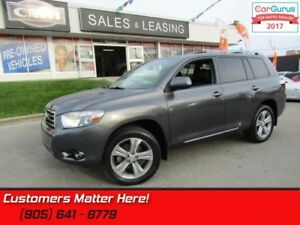 2010 Toyota Highlander Sport  AWD, LEATHER, SUNROOF, 7 PASS., HE