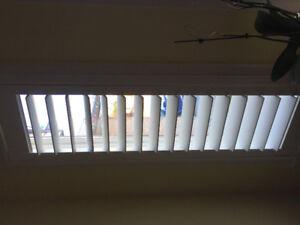 Indoor plantation style composite shutter blinds