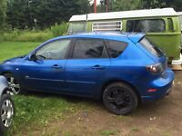 Mazda 3 full part out