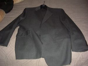 Gray Ralph Lauren suit