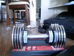 5 lbs to 25lbs dumbell