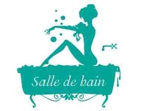 Sticker d co autocollants vinyle adh sifs baignoire salle - Autocollant pour baignoire ...
