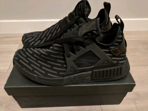 NMD XR1 Black Boost Size 9 DS