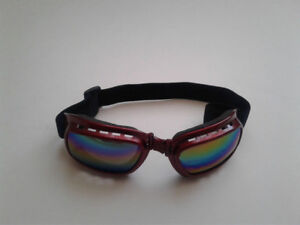 Foldable Motorcycle Goggles *RED*  r6 r1 1000rr 954rr r3 f4i