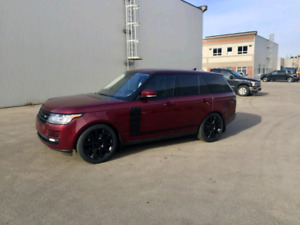 2016 RANGE ROVER Super charged