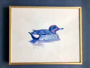 DUCK PRINTS LOUIS FRISINO Signed Ltd Edition 304/500 Set of 6