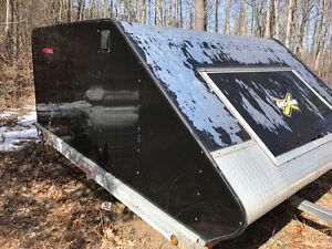 2011 north trail enclosed snowmobile trailer